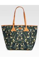 McQ by Alexander McQueen Medium Printed Canvas Shoulder Bag - Lyst