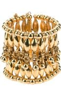 Aurelie Bidermann Beaded Cuff - Lyst