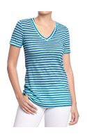 Old Navy Vintage V-Neck Tee - Lyst