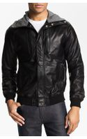Marc By Marc Jacobs Hooded Leather Jacket