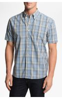 Cutter & Buck Leary Plaid Sport Shirt
