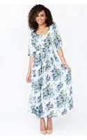 Nasty Gal Blushing Blooms Maxi Dress - Lyst