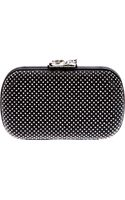 Corto Moltedo Studded Hard Case Clutch