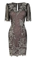 Karen Millen Colourful Lace Applique Dress