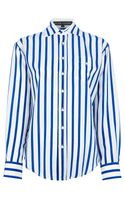 Ralph Lauren Black Label Striped Shirt - Lyst