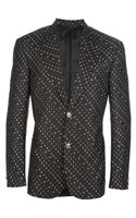 Versace Jacquard Two Piece Suit - Lyst