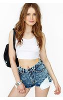 Nasty Gal Acid Damage Cutoff Shorts