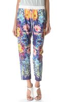 Clover Canyon Turquoise Valley Pants - Lyst