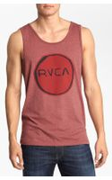 RVCA Melt Circle Tank Top - Lyst