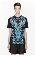 McQ by Alexander McQueen Black Abstract Butterfly Print Boyfriend T-shirt - Lyst