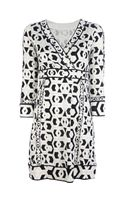 Diane Von Furstenberg Noona Faux Wrap Dress