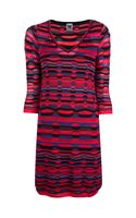 Missoni Printed Fine Knit Dress - Lyst