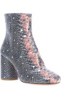 Maison Martin Margiela Fish Ankle Boot