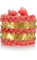 Aurelie Bidermann Copacabana Gold-plated Cuff