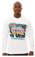 Mitchell & Ness The San Antonio Crewneck Sweatshirt