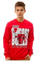 Mitchell & Ness The Chicago Bulls Crewneck Sweatshirt