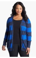 Halogen Stripe Cardigan