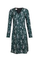 Marni Printed Silk Twill Dress