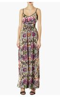 Topshop Solarized Print Maxi Dress