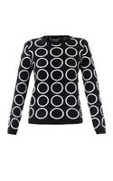 Chinti And Parker Meets Patternity Circle Intarsia-knit Sweater - Lyst
