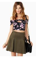 Nasty Gal Sonnet Crop Top
