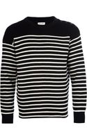 Saint Laurent Breton Sweater - Lyst