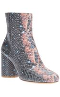 Maison Martin Margiela Scale Pattern Ankle Boot