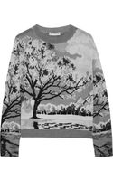 Mary Katrantzou Landscape intarsia Knitted Sweater