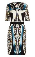 Peter Pilotto Eva Printed Stretchcrepe Dress - Lyst