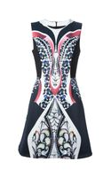 Peter Pilotto Naomi Printed Aline Dress