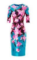 Prabal Gurung Floral Printed Sheath Dress