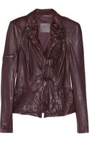 Muubaa Lyra Leather Biker Jacket
