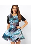 True Decadence Skater Dress in Floral Print