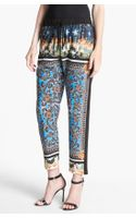 Clover Canyon Arabesque Print Crop Pants - Lyst