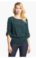 Michael by Michael Kors Print Blouson Top