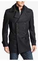 7 Diamonds Glasgow Trim Fit Double Breasted Coat