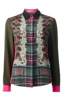Emma Cook Mixed Print Shirt - Lyst