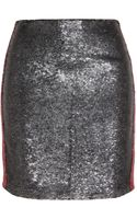 Iro Colinne Sequined Stretchjersey Skirt - Lyst