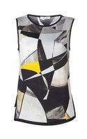 Helmut Lang Abstract Print Top