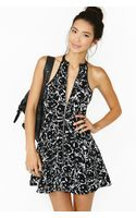 Nasty Gal Cat Fight Skater Dress