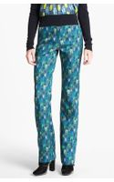 Tory Burch Nissa Wool Silk Pants - Lyst