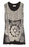 Sass & Bide The Patriotic Embellished Cotton Jersey Top - Lyst