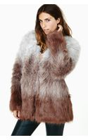 Nasty Gal In The Mood Faux Fur Coat