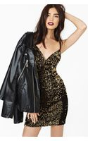 Nasty Gal Golden Glow Sequin Dress