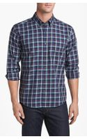 Cutter & Buck Maple Ridge Plaid Regular Fit Sport Shirt