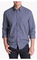 Cutter & Buck Robson Check Regular Fit Sport Shirt - Lyst