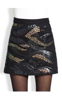 Nanette Lepore Milky Way Embellished Skirt - Lyst