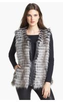 Via Spiga Faux Fur Vest
