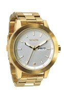 Nixon Spur Goldtone Stainless Steel Watch - Lyst