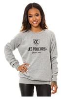 Crooks And Castles The Les Voleurs Crewneck